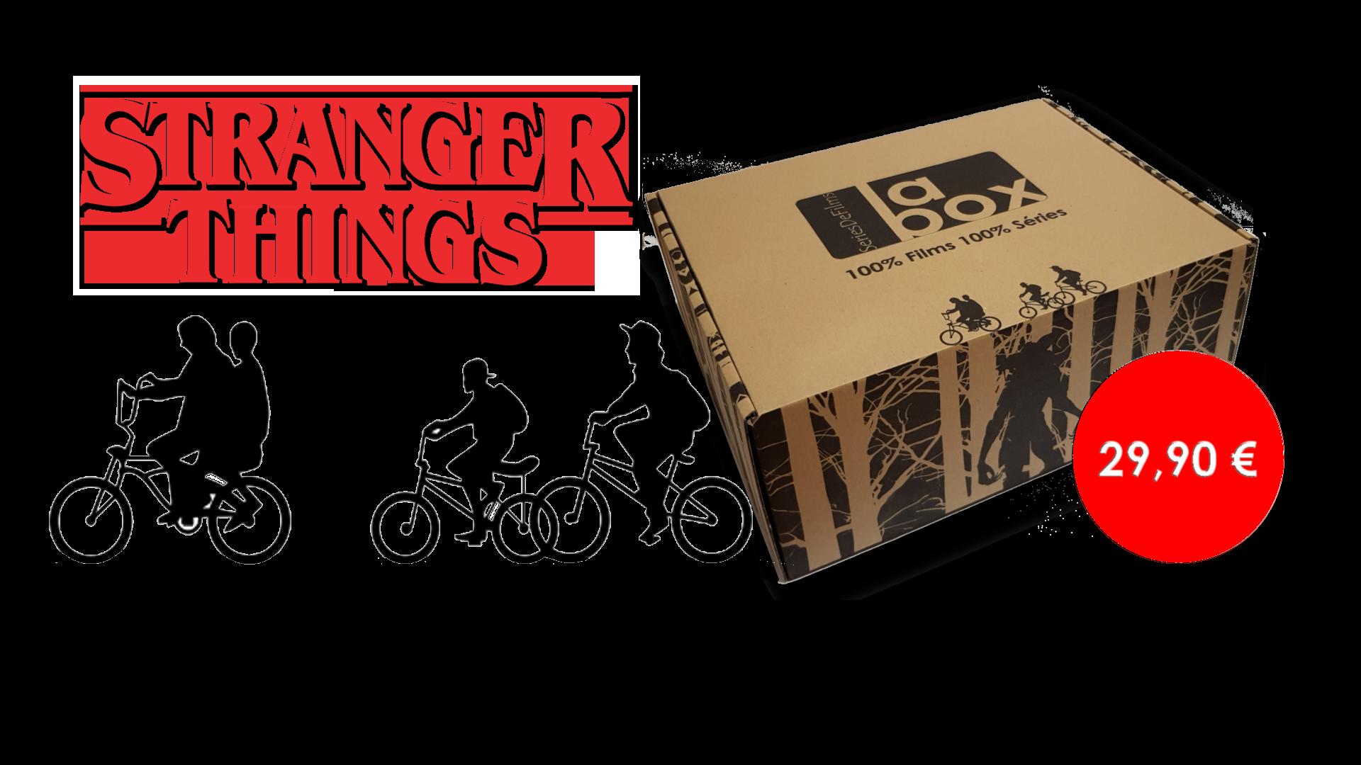 Bienvenue à Hawkins ! La première Box est consacrée à la série Netflix Stranger Things