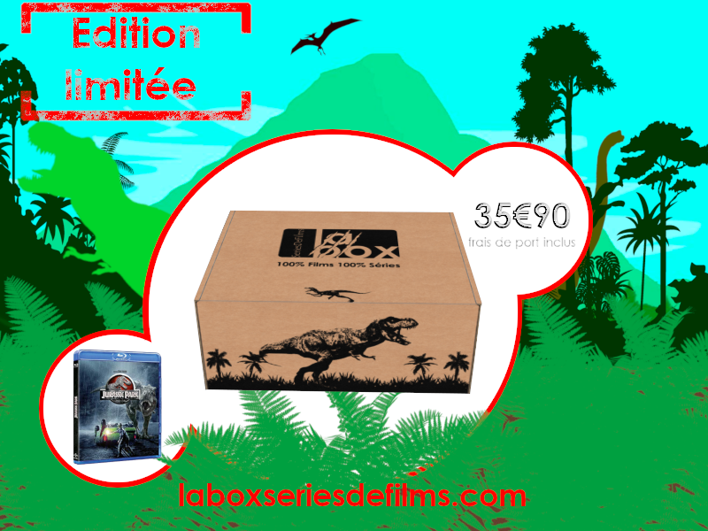La Box SeriesDeFilms – Jurassic Park – Edition collector