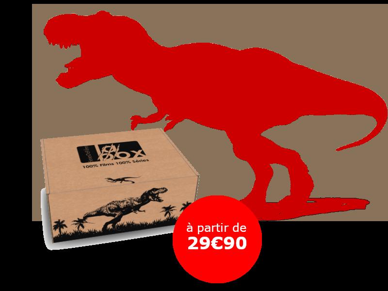 Bons baisers d'Isla Nublar ! La seconde édition de La Box SeriesDeFilms est consacrée au film culte de Steven Spielberg : Jurassic Park