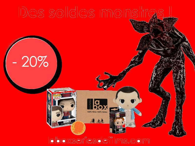 SOLDES D'HIVER : Profitez de - 20% sur La Box Stranger Things et découvrez le concept de La Box SeriesDeFilms !